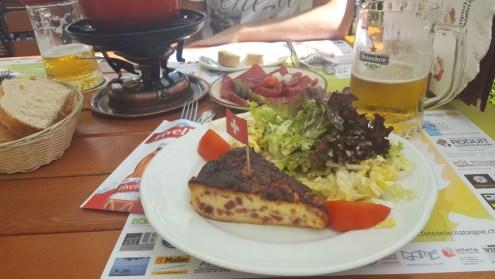 Almoço em Gruyères