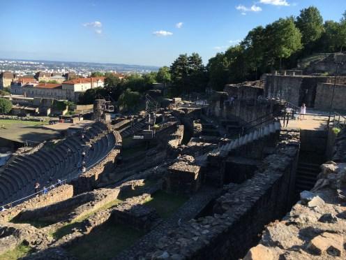 Teatro Galo-romano em Lyon