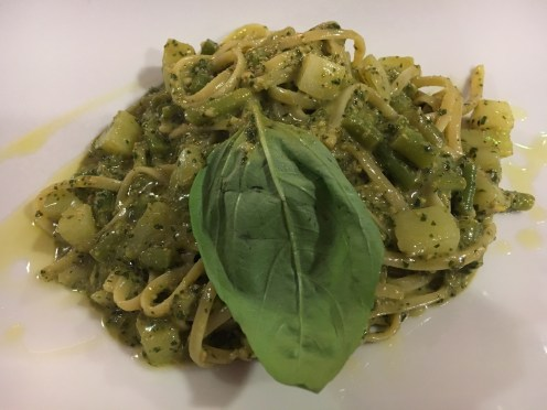 Melhor molho pesto ever - Restaurante Dolceacqua