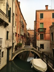Veneza quase deserta