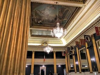 Sala de eventos presidenciais