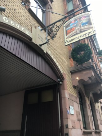 Entrada Restaurante Kanonesteppel