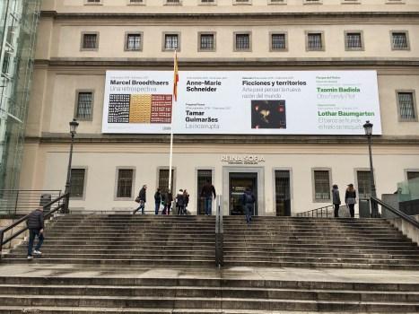 Entrada Centro de Arte Reina Sofia