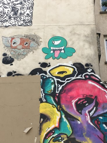 Rue de la Fontaine au Roi - Street Art em Paris