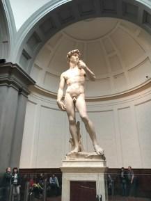Florença - David na Galeria dell'Accademia