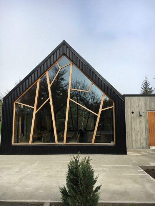 Akureyri - Café cantora Bjork dentro do Jardim Botânico