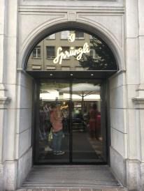 Confeitaria Sprungli em Zurich