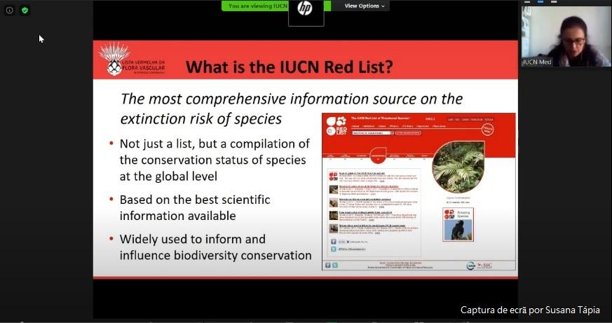Apresentação de Catherine Numa (IUCN-Centre for Mediterranean Cooperation)