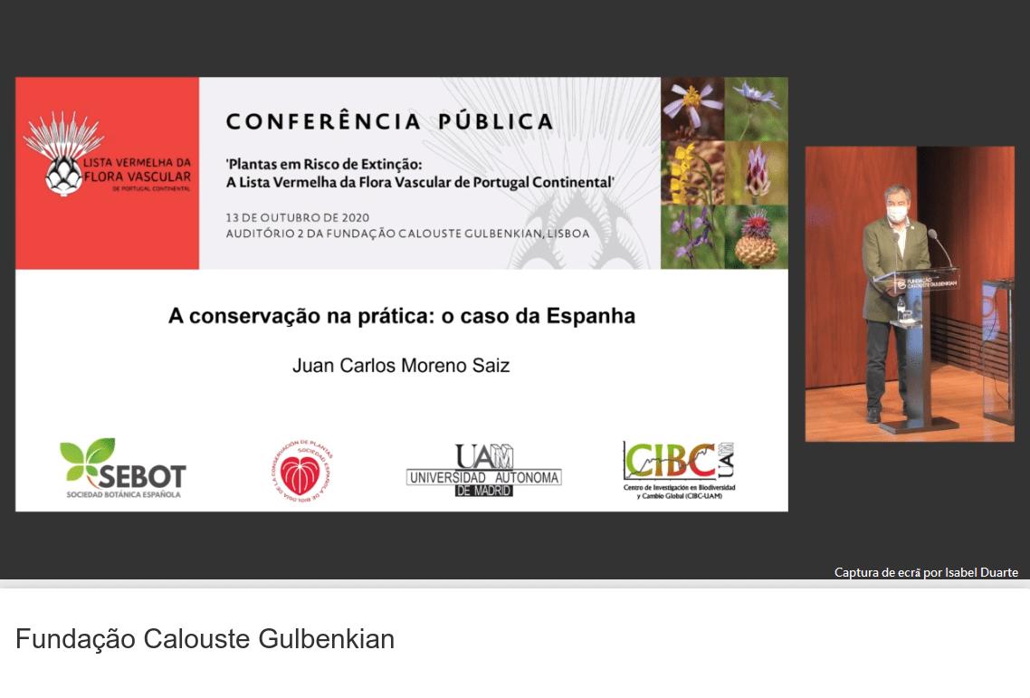 Apresentação de Juan Carlos Moreno (Universidad Autónoma de Madrid)