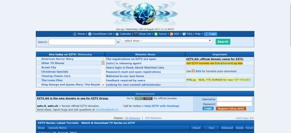 Best-torrenting-sites-EZTV