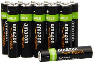 Amazon Basics AAA Rechargeable