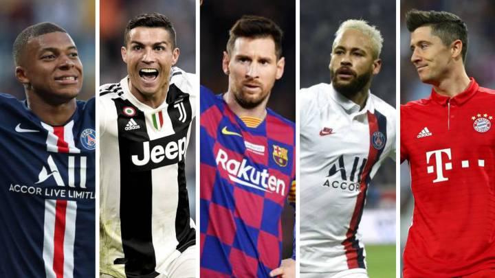 2020'nin En Başarılı 10  Futbolcusu