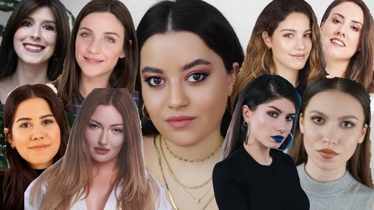 En Seksi 12 Türk Kadın Youtuber