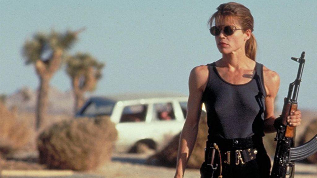 Sarah Connor,Linda Hamilton, Terminator 2 - Aksiyon Filmlerindeki Kadın Kahramanlar