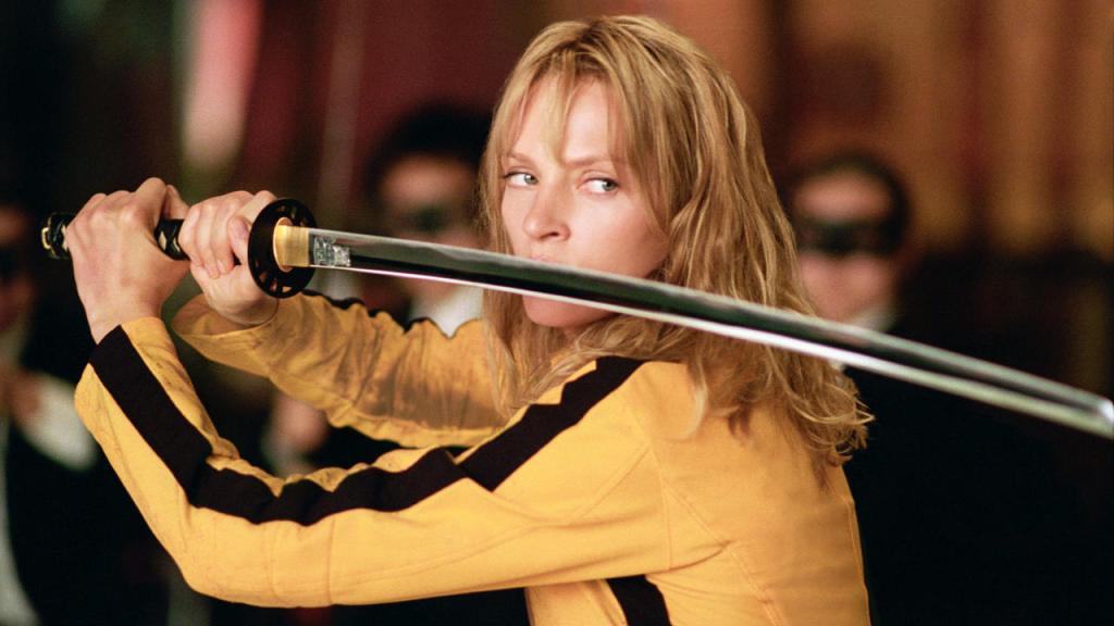 """Uma Thurman """"Kill Bill"""" - Aksiyon Filmlerindeki Kadın Kahramanlar"""