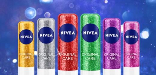 Strălucește și dăruiește! Descoperă ediția limitată sparkle NIVEA LIP CARE SPARKLE