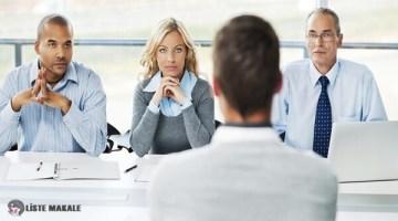 İş Görüşmesinde Sorulan Sorular ve Uygun Cevaplar