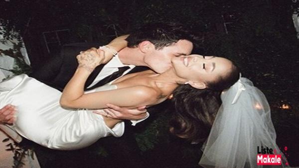 Ariana Grande ve Nişanlısı Dalton Gomez Evlendi