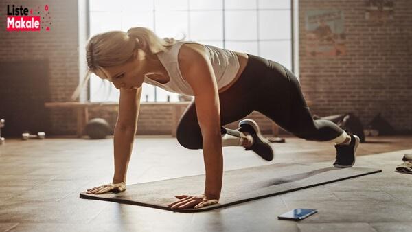 Yağ Yakmada Etkili 5 Egzersiz