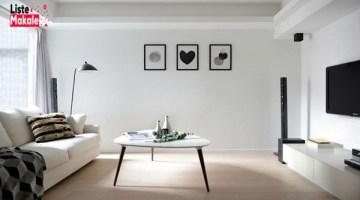 Minimal Salon Dekorasyonu Nasıl Olmalı?