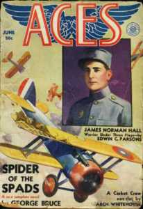 Tribute to James Norman Hall a World War 1 flying Ace.