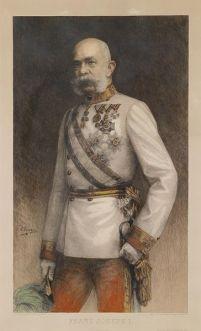 Emperor Franz Joseph ruler of the Austro-Hungarian Empire