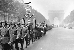 German Troops enter Paris June 14, 1941