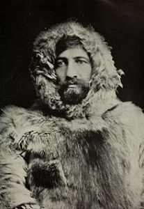 Dr. Frederick Albert Cook in Arctic dress.