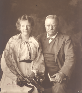 Edith and Theodore Roosevelt in later life