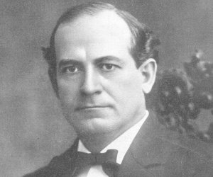 William Jennings Bryan, Democratic Presidential Candidate in 1896