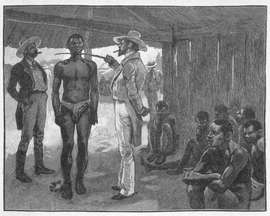 Buying a slave in Havana Cuba 1837