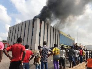 ListenGH Fire guts GRA head office annex in Accra
