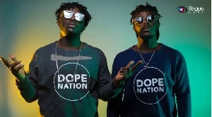 ListenGH DopeNation throws shot at Kwesi Arthur in a new song and here's why