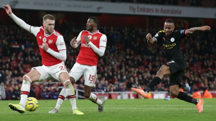 Arsenal's game against Manchester City was reportedly dropped from Chinese state television schedules