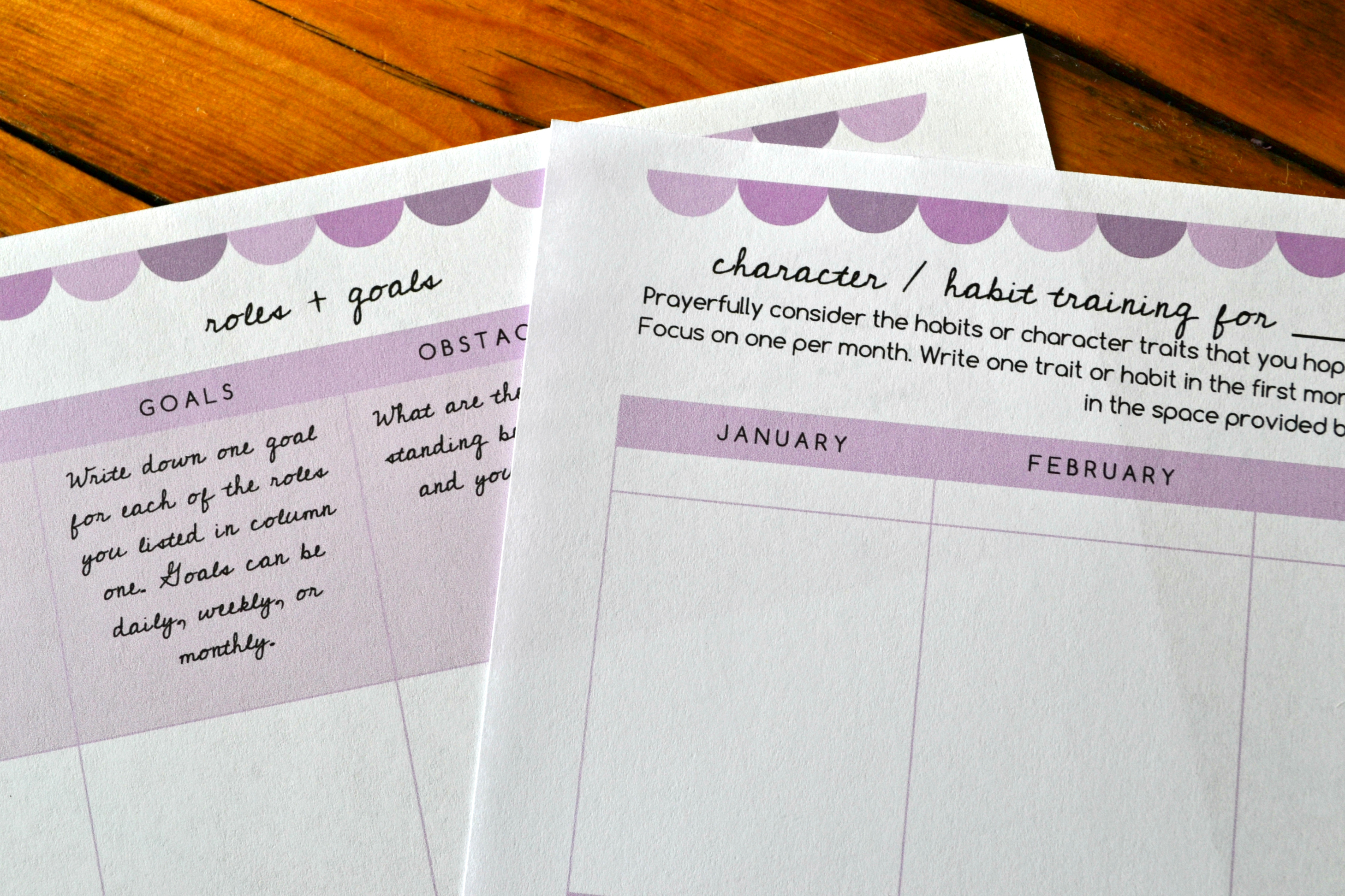 Free Printable Daily Weekly Monthly And Yearly Planning