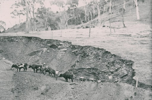 Quarry at Meadows, not dated.  Courtesy of Prospect Hill Museum.