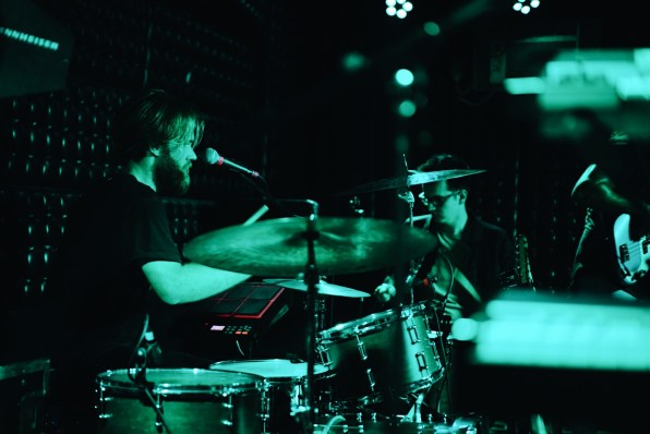 Brandon from The Young Wild at The Casbah