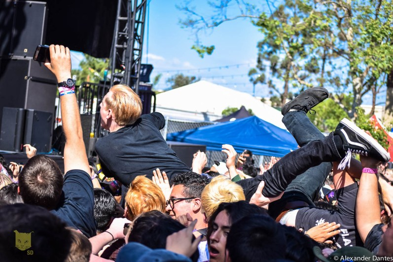 Crowd Surfing' at Its Finest