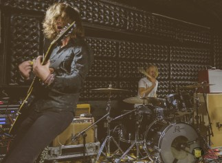 Photographs of The Shelters band live at the Casbah by Ryan Saint James 2016 for ListenSD
