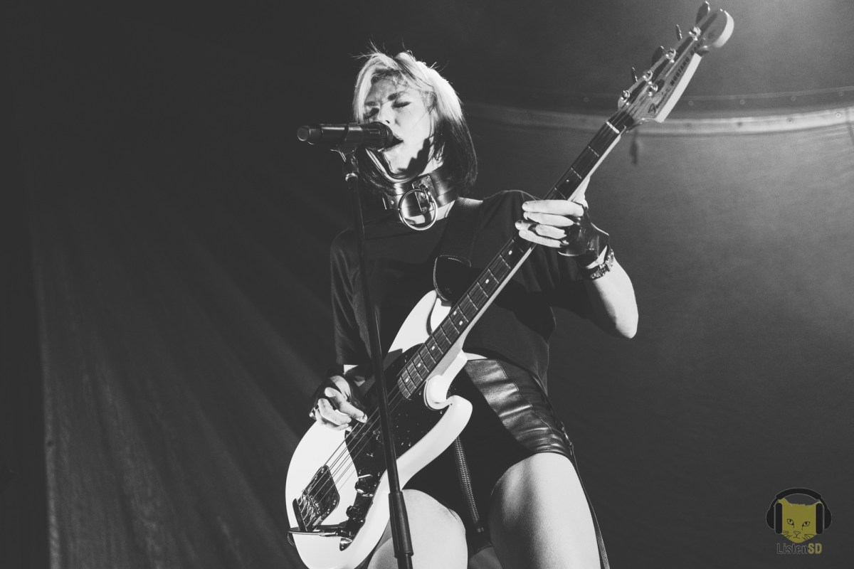 Sarah Barthel of Phantogram (Photo By: Summer Luu)