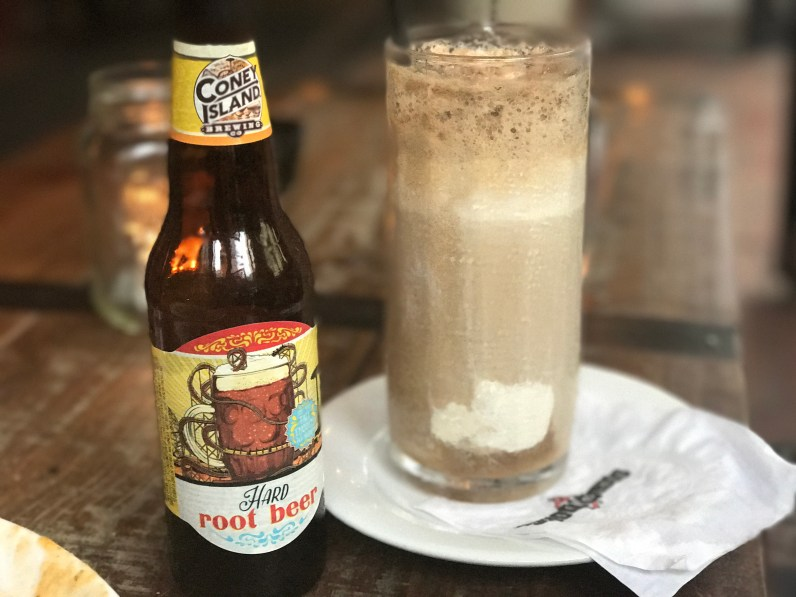 Adult Root Beer Float!