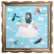 Jesus On Cloud 9 by Celeste Byers