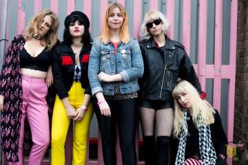 Yassassin (Left to right: Anna, Raissa, Ruth, Joanna, Moa)