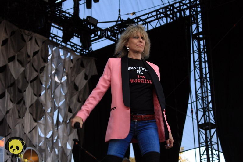 The Pretenders at Arroyo Seco Weekender
