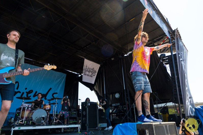 Real Friends at San Diego Vans Warped Tour 2018