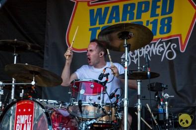Simple Plan at San Diego Vans Warped Tour 2018