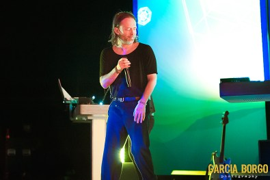 Thom Yorke at Observatory North Park by Sylvia Borgo