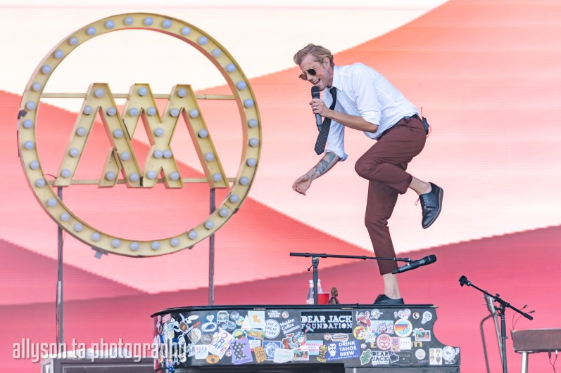 Andrew McMahon in the Wilderness at KAABOO Del Mar by Allyson Ta for ListenSD