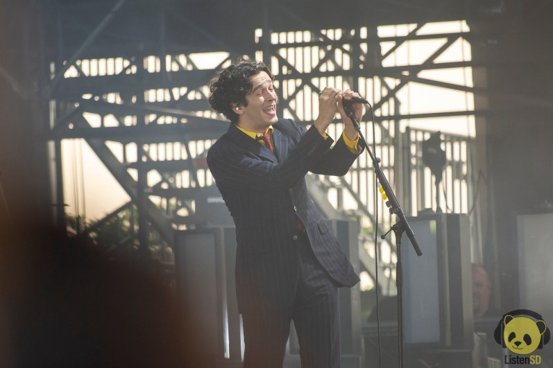 The 1975 at Governors Ball 2019 by Francesca Tirpak for ListenSD