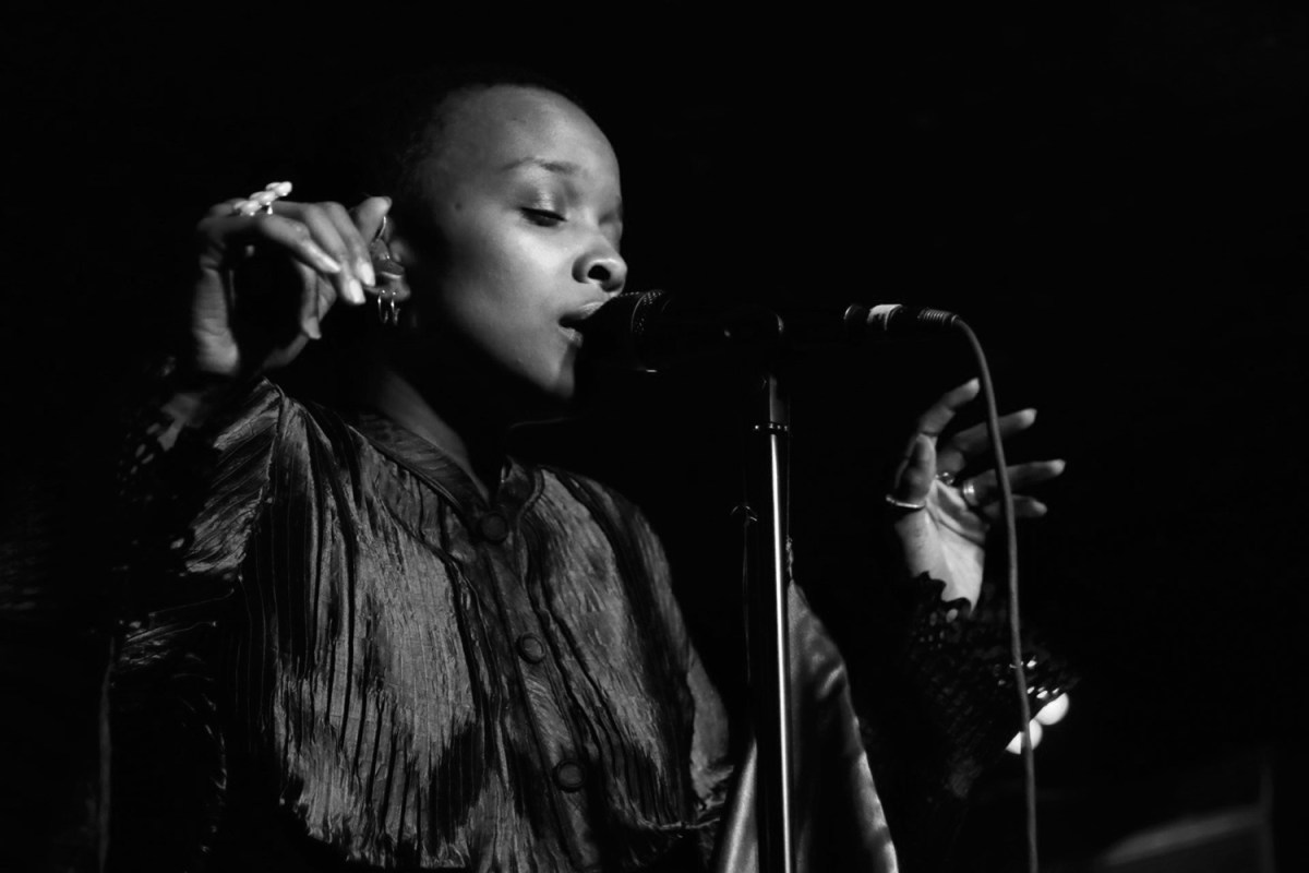 Jamila Woods at the Casbah for ListenSD